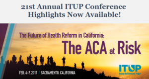 21st Annual ITUP Conference