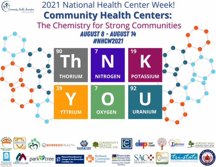 Poster for National Health Center Week 2021