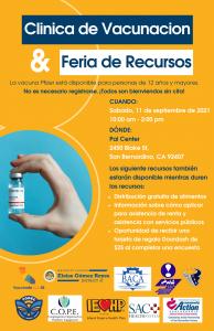 Pal-Center-Vaccinatio-Clinic-Spanish-Flyer